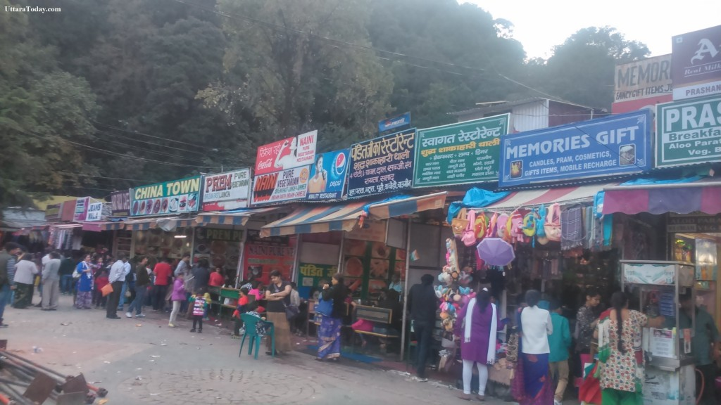 Eating out in nainital